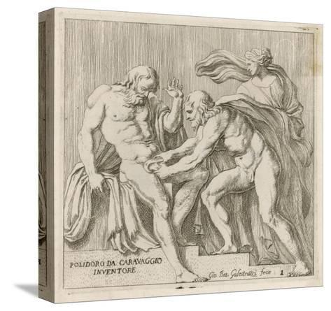 Uranos Castrated--Stretched Canvas Print