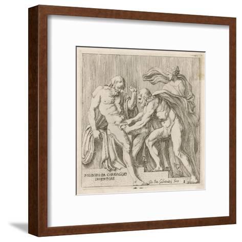 Uranos Castrated--Framed Art Print