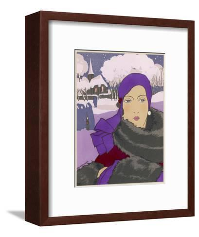 Winter Fashion--Framed Art Print
