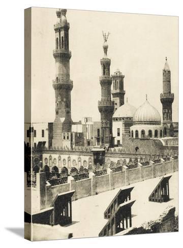 Al-Azhar University and Mosque, Cairo, Egypt--Stretched Canvas Print