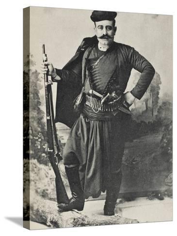 A Greek Cretan Patriot--Stretched Canvas Print