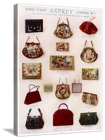 Asprey Handbags Advertisement--Stretched Canvas Print