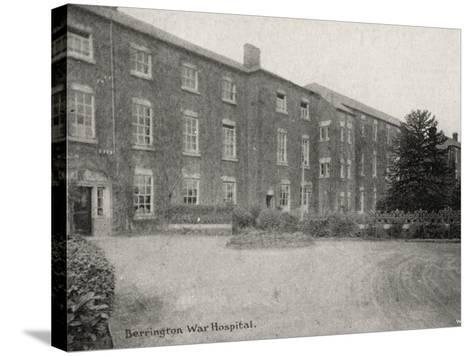 Berrington War Hospital, Atcham, Shropshire-Peter Higginbotham-Stretched Canvas Print