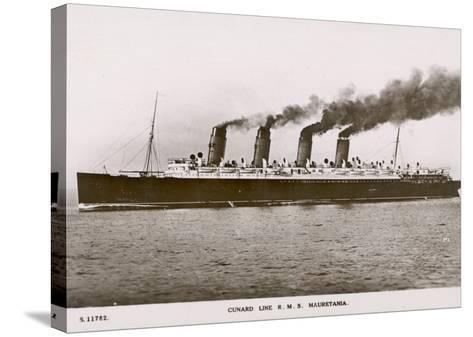 Cunard Line R.M.S. Mauretania--Stretched Canvas Print