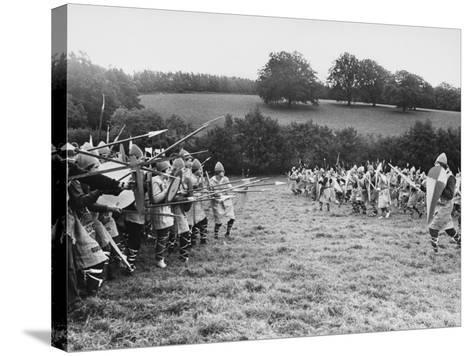 Battle of Hastings--Stretched Canvas Print