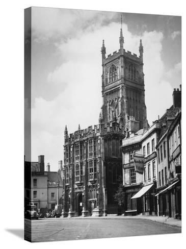 Cirencester Church--Stretched Canvas Print