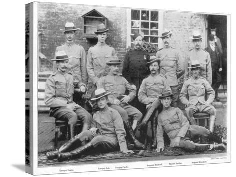 Boer War Yeomanry Troops--Stretched Canvas Print