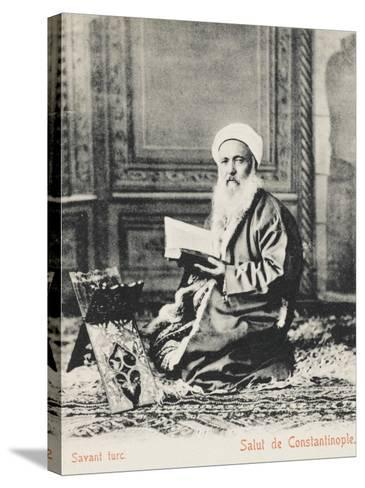 Constantinople - Turkish Religious Scholar--Stretched Canvas Print