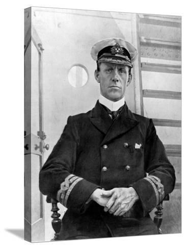 Captain of the Empress of Ireland, Captain G. H Kendall--Stretched Canvas Print