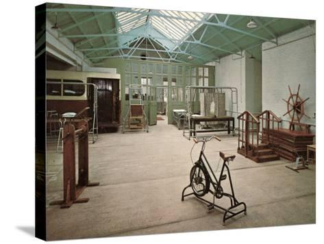 Gymnasium, Princess Mary's Hospital, Margate, Kent-Peter Higginbotham-Stretched Canvas Print