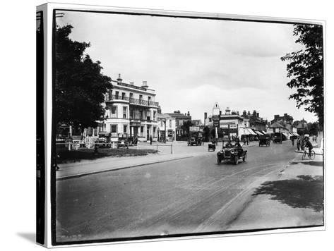 High Street, Woodford Green, London Borough of Redbridge--Stretched Canvas Print