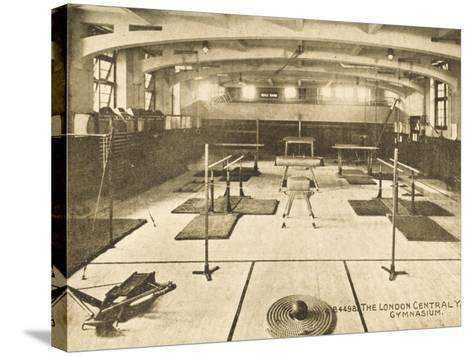 London Central YMCA Gymnasium--Stretched Canvas Print