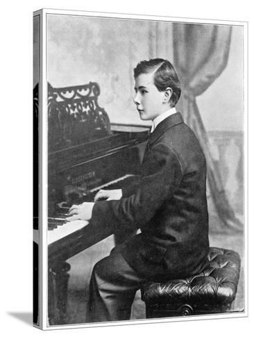 Josef Hofmann Polish Musician--Stretched Canvas Print