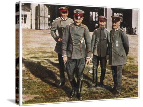 Manfred Von Richthofen--Stretched Canvas Print