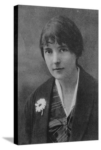 Katherine Mansfield 1--Stretched Canvas Print