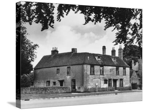 Jane Austen's Home--Stretched Canvas Print