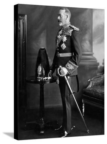 King George V. 1930--Stretched Canvas Print