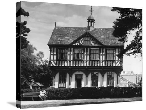 Leominster Grange House--Stretched Canvas Print