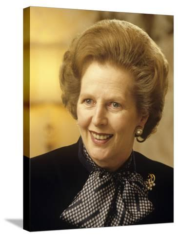 Margaret Thatcher--Stretched Canvas Print