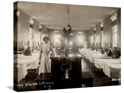 Shirley Warren Infirmary, Southampton-Peter Higginbotham-Stretched Canvas Print