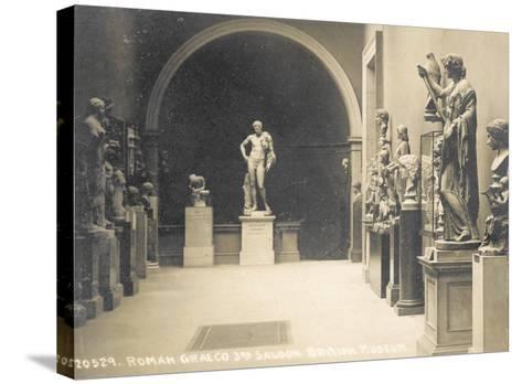 Roman Graeco, 3rd Saloon, British Museum, London, England--Stretched Canvas Print