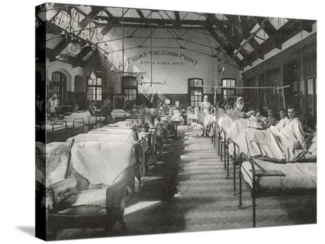 No. 2 (Battle) War Hospital, Reading, Berkshire-Peter Higginbotham-Stretched Canvas Print
