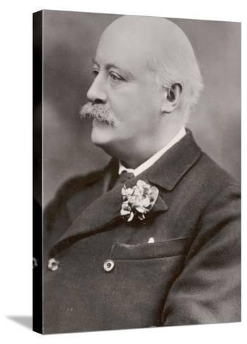 Charles Hubert Parry, English Composer--Stretched Canvas Print