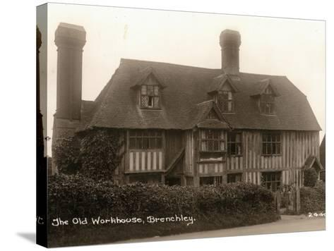 Parish Workhouse, Brenchley, Kent-Peter Higginbotham-Stretched Canvas Print