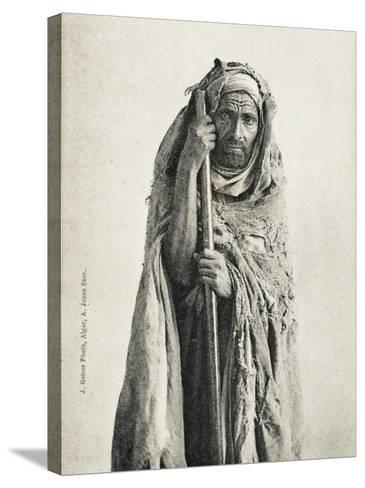 Poor Man - Sidi Meskine, Algeria--Stretched Canvas Print