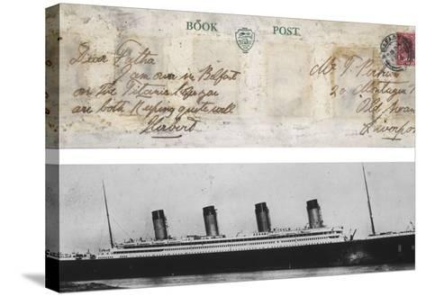 Postcard from Titanic--Stretched Canvas Print