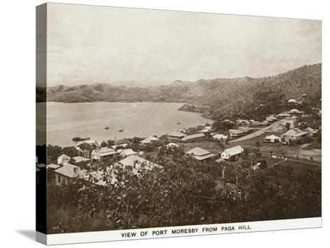 Port Moresby from Paga Hill - Papua New Guinea--Stretched Canvas Print