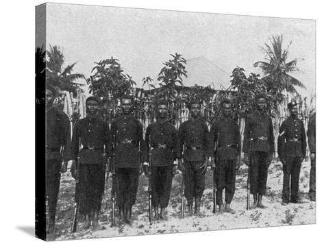 Sierra Leone Frontier Police--Stretched Canvas Print