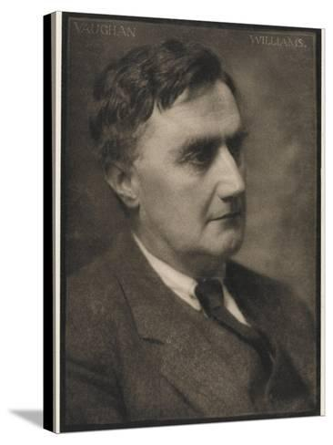 Ralph Vaughan Williams Composer--Stretched Canvas Print