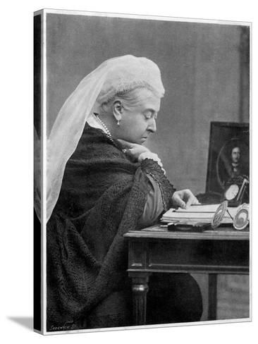 Queen Victoria--Stretched Canvas Print