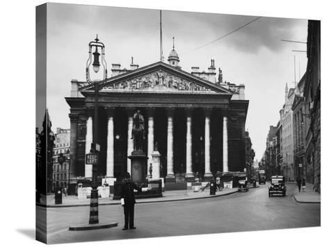 Royal Exchange, London--Stretched Canvas Print