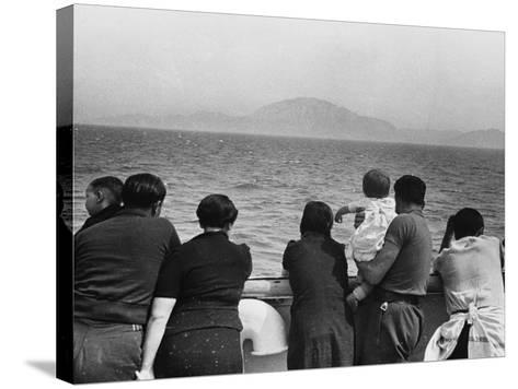 Refugee Ship WWII-Robert Hunt-Stretched Canvas Print