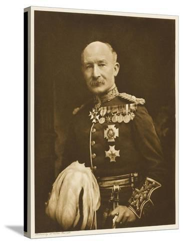 Robert Stephenson Smyth, Lord Baden-Powell Soldier , Later Founder of the Boy Scout Movement--Stretched Canvas Print