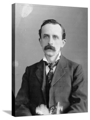Sir James Barrie, 1900--Stretched Canvas Print