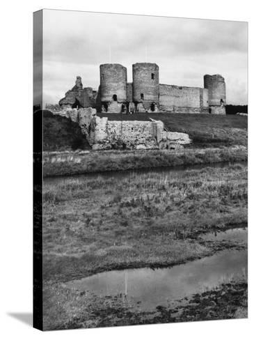 Rhuddlan Castle--Stretched Canvas Print