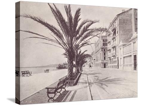 Promenade Des Anglais--Stretched Canvas Print