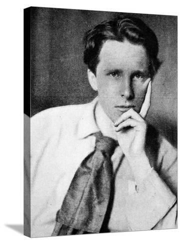 Rupert Brooke, 1915--Stretched Canvas Print