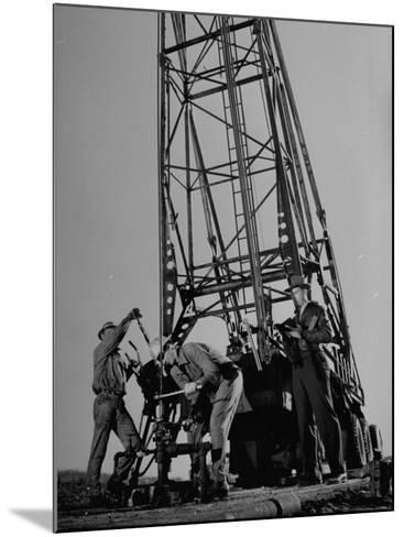 Phillips Petroleum Company Employees, Members of the Phillips 66 Champion Amateur Team, Working-Cornell Capa-Mounted Premium Photographic Print