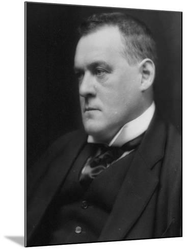 British Author and Historian Hilaire Belloc, Photographed by E. O. Hoppe-E.O. Hoppe-Mounted Premium Photographic Print