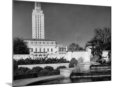 A View Showing the Exterior of the Texas University-Carl Mydans-Mounted Premium Photographic Print