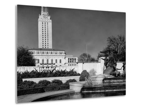 A View Showing the Exterior of the Texas University-Carl Mydans-Metal Print