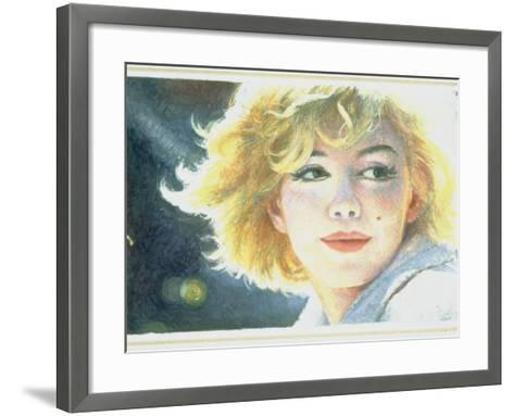 Mock-Up of Possible Stamp Honoring Actress Marilyn Monroe--Framed Art Print