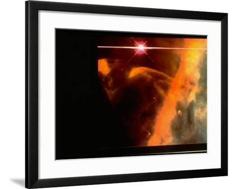 Hubble Space Telescope Image of Orion Nebula-C.R. O'Dell-Framed Art Print