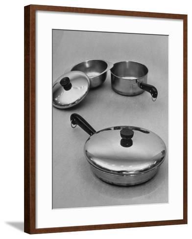 Revere Ware Cooking Utensils-Martha Holmes-Framed Art Print