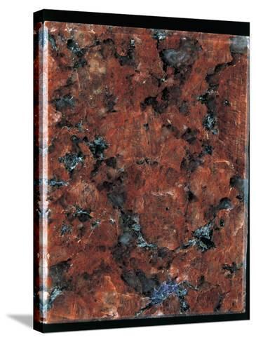 Close-Up of a Red Granite Rock-A^ Rizzi-Stretched Canvas Print
