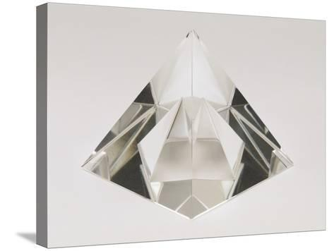 Close-Up of a Crystal Pyramid-G^ Cigolini-Stretched Canvas Print